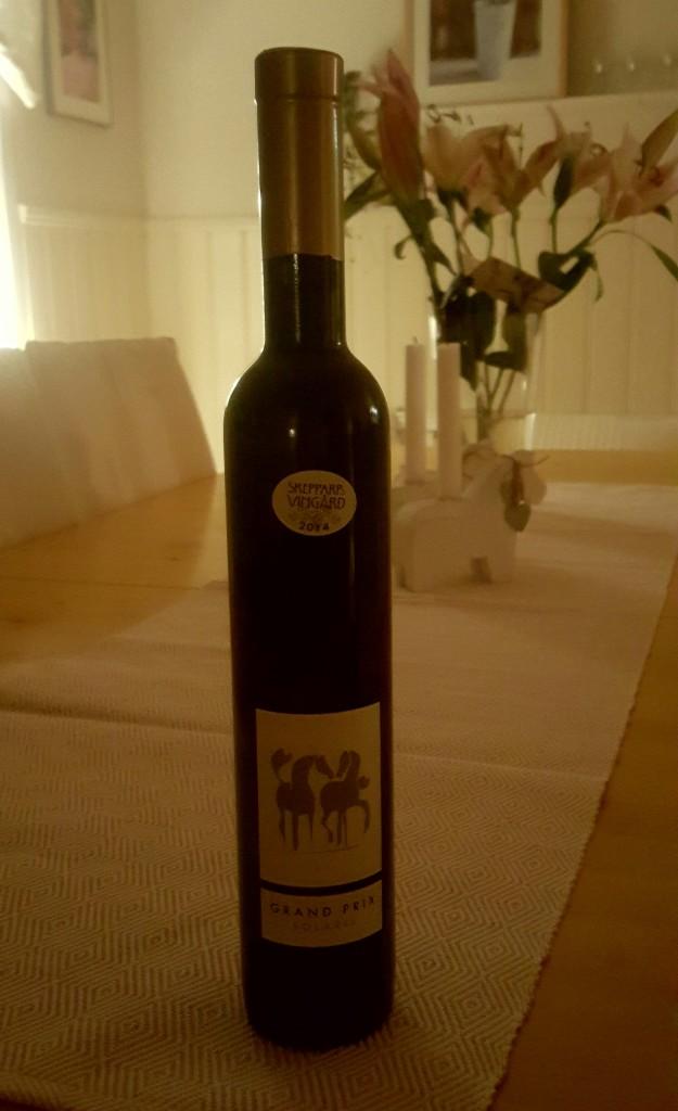 Tack söta goa Anki för presenten- jag känner på mig att detta kommer bli nya favvo-vinet! ?